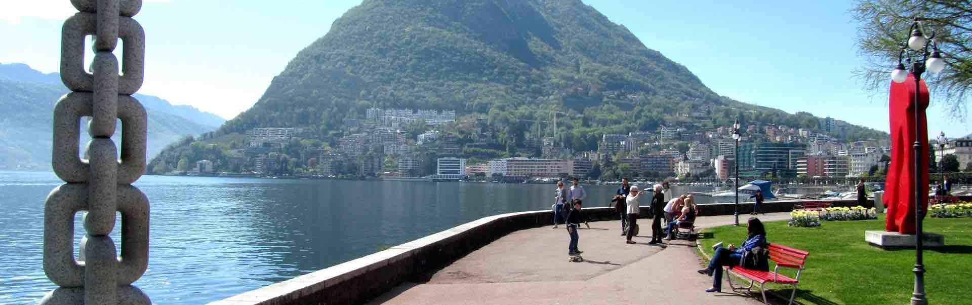In affitto a Lugano sul lago