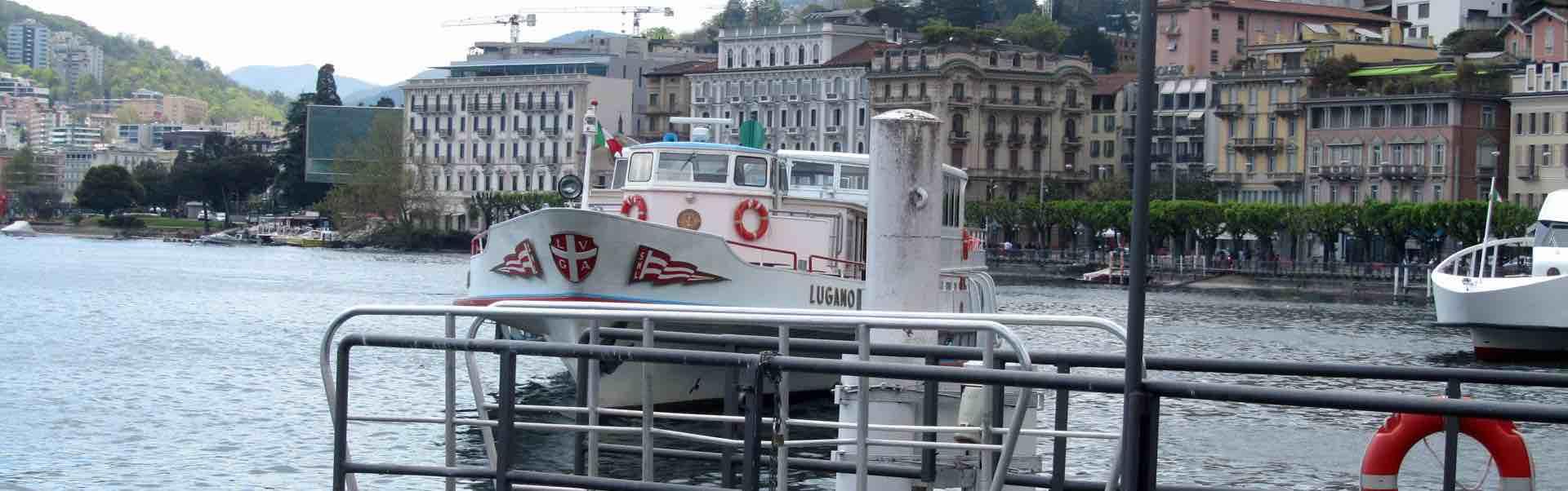 Soggiorno in monolocale a Lugano